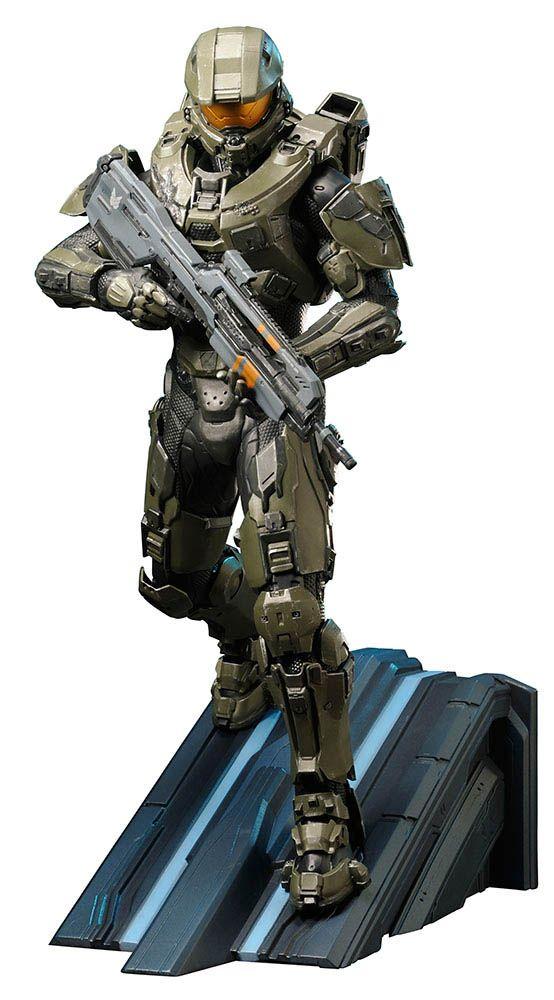 Estatua Master Chief 30 cm. Línea ARTFX. Escala 1/6. Halo 4. Kotobukiya Estupenda estatua del personaje de Master Chief de 30 cm del videojuego Halo 4, con accesorios a escala 1/6 y 100% oficial y licenciada que de buen seguro gustará a todos los fans.