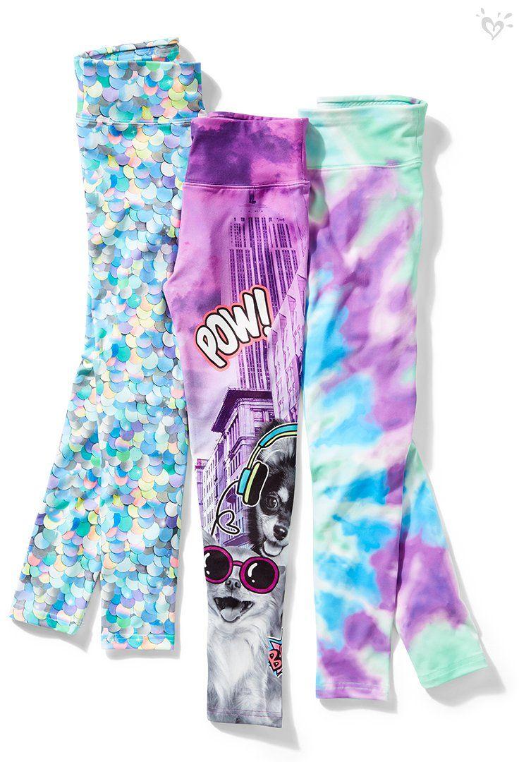 We ❤ print-perfect leggings!