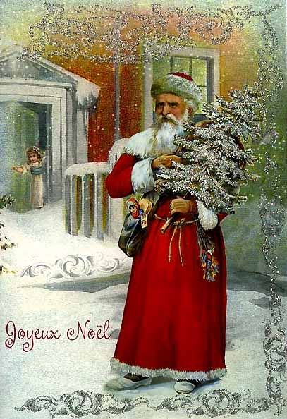 Vintage  Christmas Card from Germany: