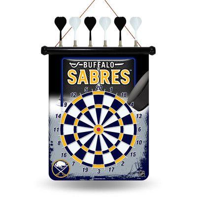 Rico NHL Magnetic Dart Board NHL Team: Buffalo Sabres