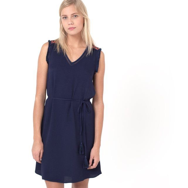 Robe CLEMENTINE sans manches, broderies ethniques AN'GE | La Redoute Mobile