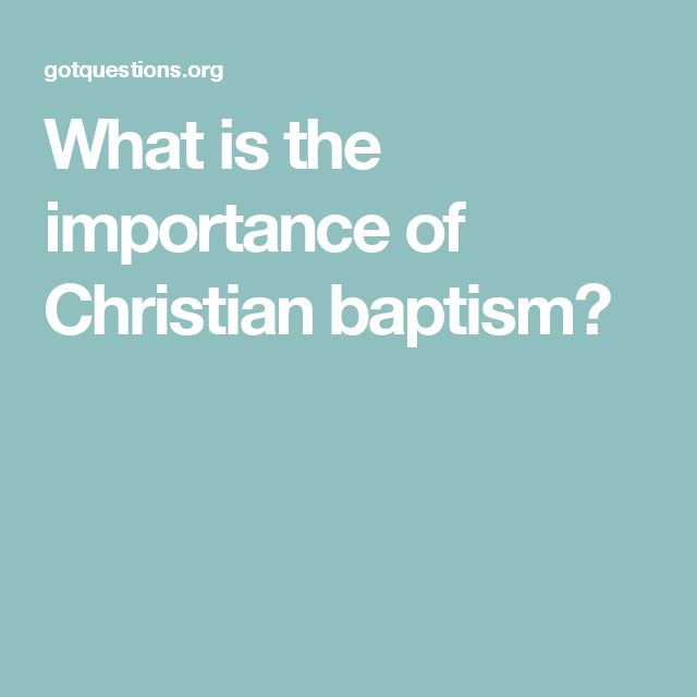 the consequences of a baptism without christ The effects of original sin need not harm us so long as we seek strength to resist  them  by baptism we become members of the church, the body of christ.