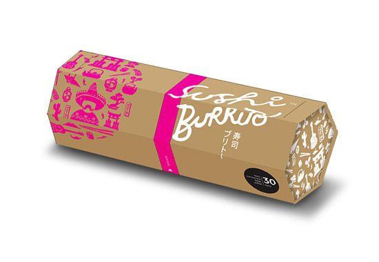 Packaging Sushi Burrito