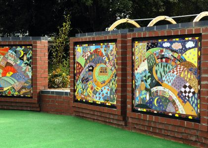 St Roses School sensory garden project / Magic Fountains ...
