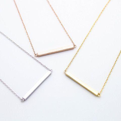 Solid bar necklace – Imsmistyle.