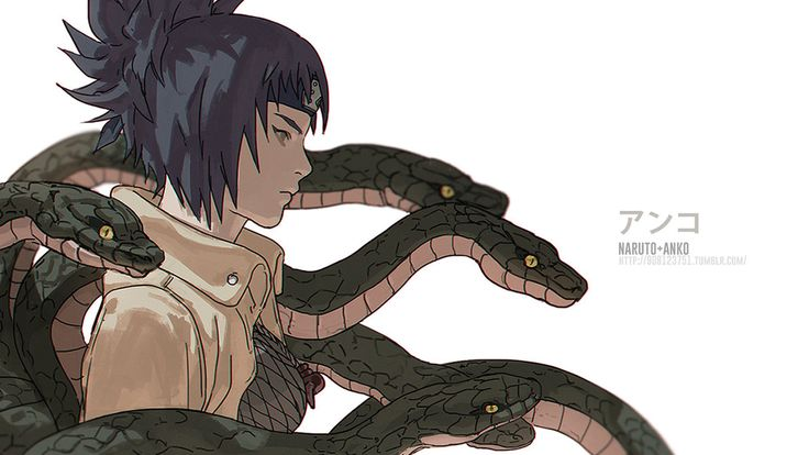 NARUTO- Anko by fisher903.deviantart.com on @DeviantArt
