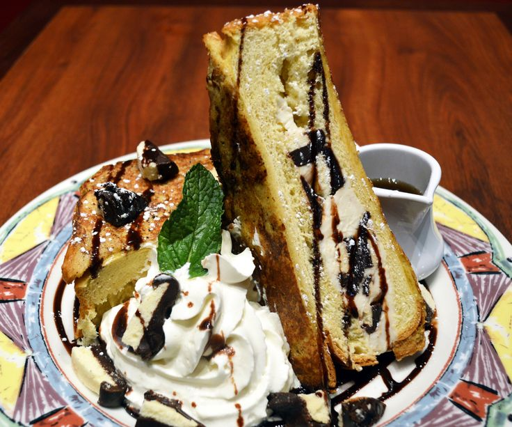 Perfect January French Toast of the Month at Miss Shirley us Cafe Roland Park Berger