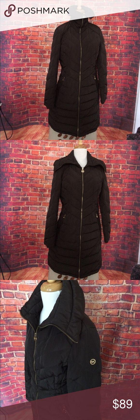 Michael Kors Brown Down Puffer Coat Size M Michael Kors Brown Down Puffer Coat Size M Michael Kors Jackets & Coats Puffers