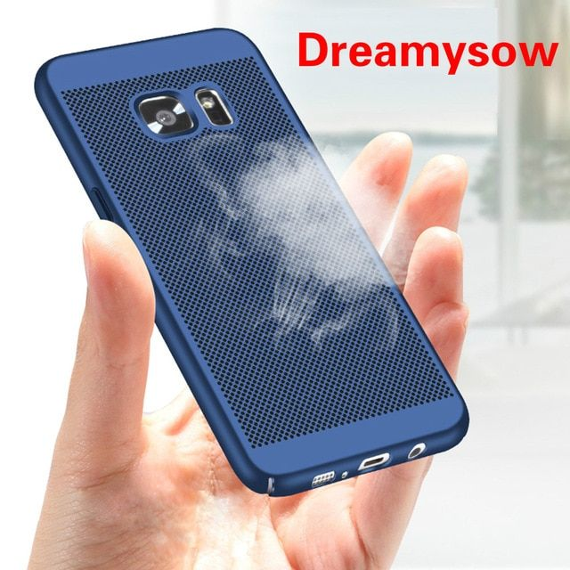 Cooling Phone Case For Samsung Galaxy A3 A5 A7 2016 2017 J5 J7 Prime S5 S6 S7 Edge S8 Plus Note3 Note5 Note8 Full Plastic Cover Review Samsung Galaxy Samsung Galaxy