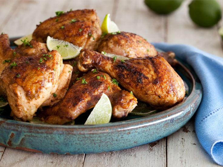 The Ultimate Jerk Chicken recipe from Tyler Florence via Food Network