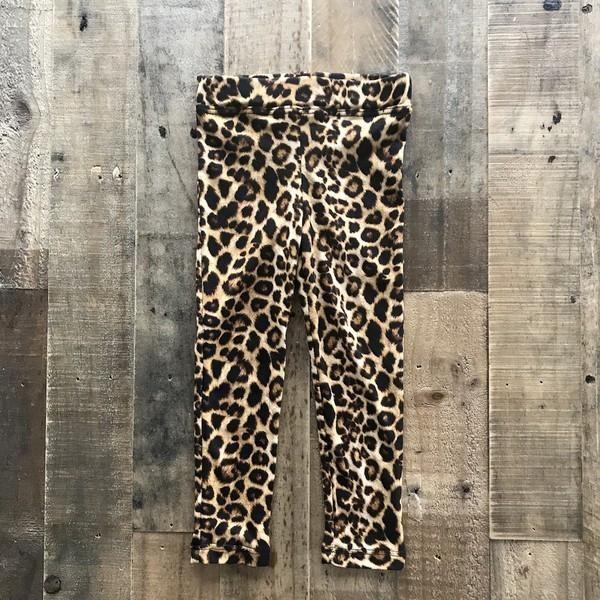 Toddler Full Length Leopard Print Leggings Size 2T, 3T, 4T