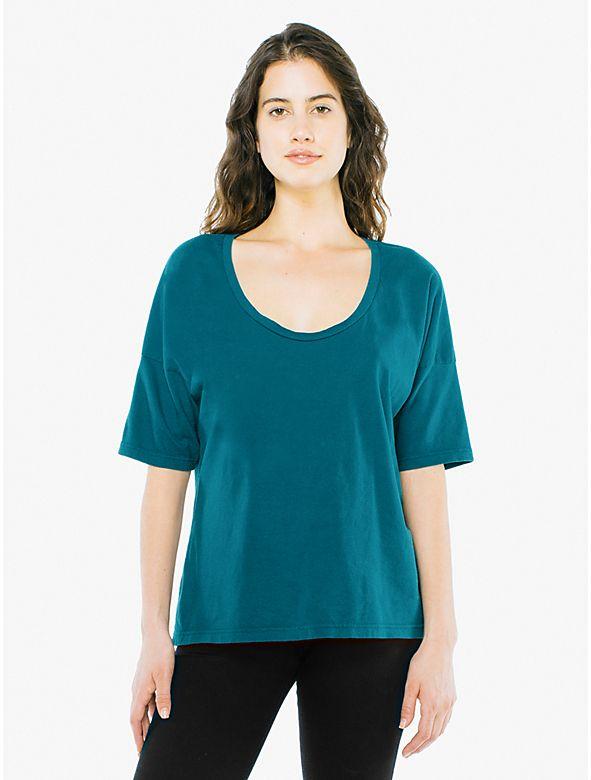 3ff70fbc227c9 Power Wash U Neck T-Shirt | Spring Looks | Tank shirt, T shirts for ...