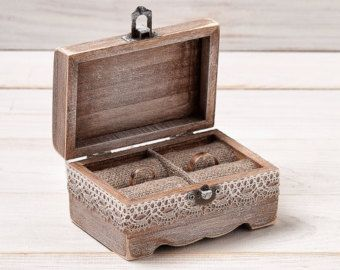 vintage wedding ring boxes - Google Search