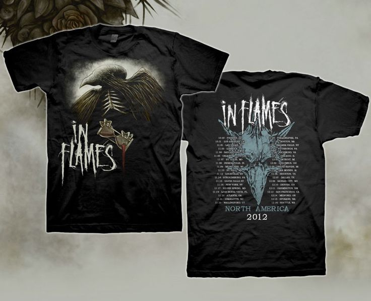 In Flames Winter 2012 Tour T-Shirt for $19.95 - NOW ON SALE FOR $9.98  http://www.jsrdirect.com/merch/in-flames/winter-2012-tour-shirt  #inflames #jsronsale #winter #2012tour #bandtees #metaltees #metaltshirts #metalmerch