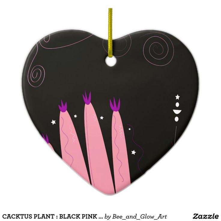 CACKTUS PLANT : BLACK PINK ORIGINAL ILLUSTRATION