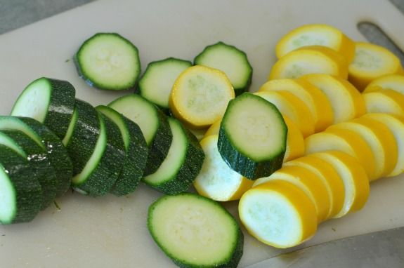 Easiest Ever Grilled Zucchini Packet