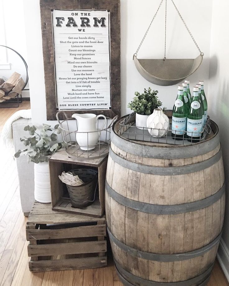 and wine ladder rustic barrel with home wagon improbable wedding interior ideas decoration decor fall blogrollr
