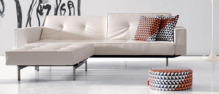 Splitback Sleeper Sofa with Arms