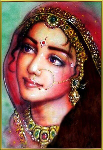 .The sweetest eyes of Radharani.