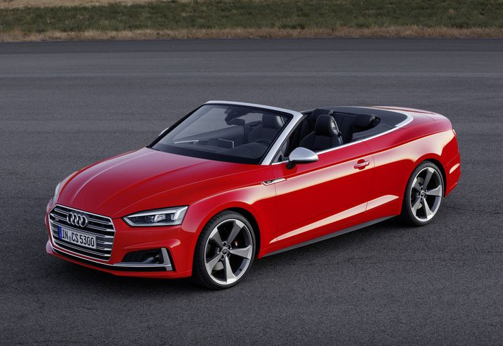 The all-new Cabriolet rejoins the recently launched Coupé and five-door  Sportback models to complete the new Audi A5 range.