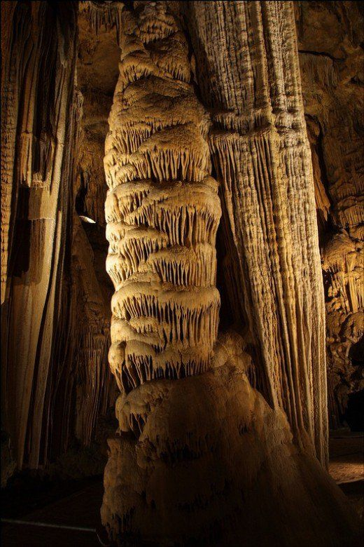 """One of the oldest and most well known caves in the United States, located in central Kentucky. Mammoth Cave boasts to be the longest in the world with over 365 miles of subterranean passageways. The cave was """"discovered"""" by American settlers in..."""