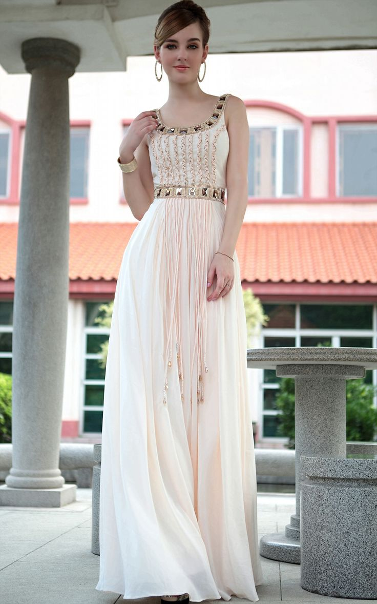 Cheap dress to order - Dorisqueen Free Shipping Beads Evening Dress Prom Dress So Lovely And Pure Color