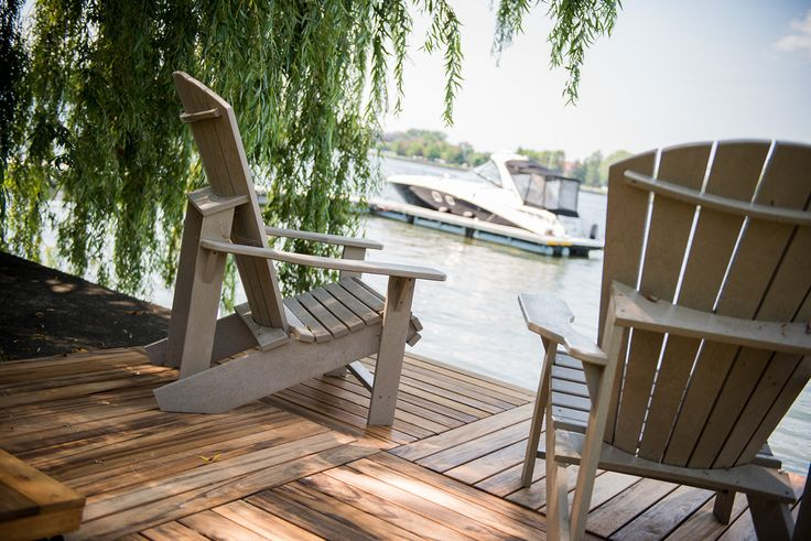 For a relaxing area - interlocking deck tiles, no tools necessary www.decktogo.com