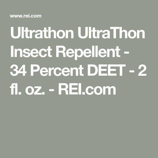 Ultrathon UltraThon Insect Repellent - 34 Percent DEET - 2 fl. oz. - REI.com