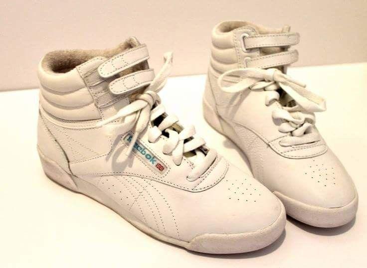 My favorite shoes!!   Memory Lane..   High top reeboks