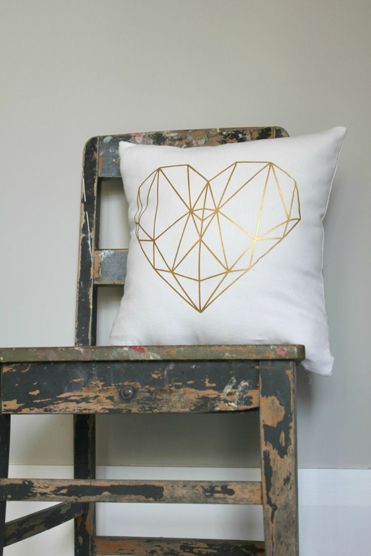 Your choice of two Oh So Cute cushion covers. Choose from gorgeous metallic gold geometric designs, typographic designs, colourful florals and more #foundonfelt #aklfair #pinandwin #newzealandmade