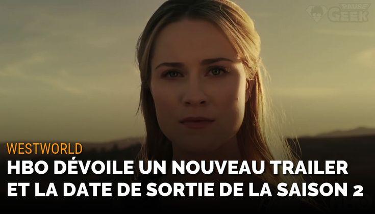 La chaîne #HBO a diffusé cette nuit à l'occasion du #SuperBowl un trailer et la date de diffusion de la saison 2 de #Westworld. #geek #scifi #trailer