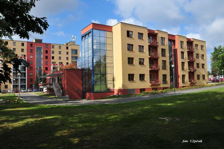 Lázně Hodonín - Budova Eva - Hodonín  www.laznehodonin.cz Hotel 3* Superior
