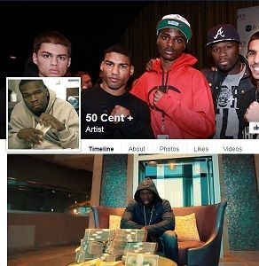 "Fake 50 Cent the Rapper Facebook Page Cash and Car Giveaways: The Facebook page below, which claims 50 Cent, an American rapper, is giving away cash and cars, is a like-farming scam. The fake page that goes by the name ""50 Cent +"", has nothing to do with 50 Cent. The page was created by scammers to trick their victims into ""liking"", commenting on, and sharing the fake 50 Cent Facebook page, in order to make it popular...."