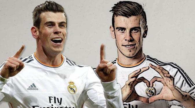 Tendangan bebas Bale kerap bikin mimpi buruk bagi para penjaga gawang kelas dunia.