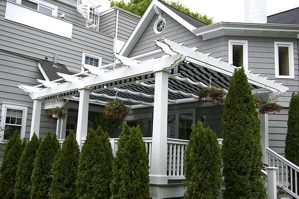 12 Best Images About Pergolas With Retractable Awnings On