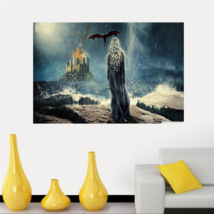 Silk Game of Thrones Canvas Poster //Price: $11.99 & FREE Shipping //     #WinterIsComing