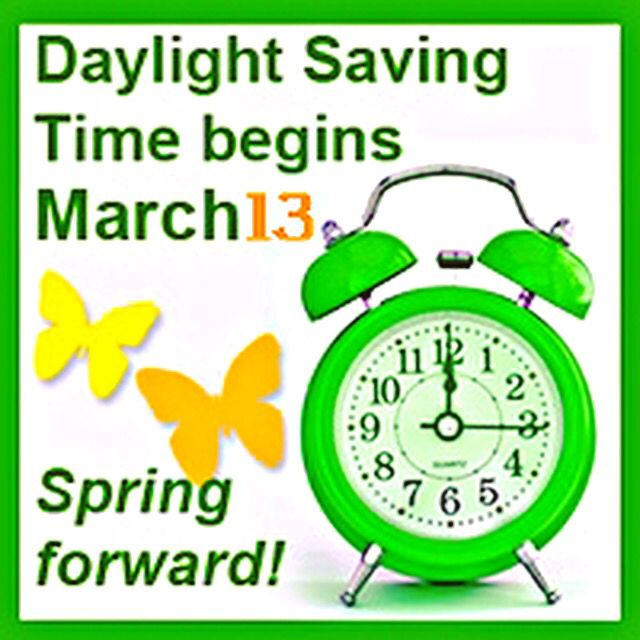 Daylight Saving Time begins this Sunday, March 13, 2016. Don't forget to set your clocks forward one hour tonight before you go to bed. #daylightsavings #springforward #loseanhourofsleep #march132016 #DentistryForSpecialPeople #daylightsavings2016