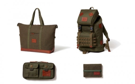 Dr. Romanelli x HEAD PORTER   Army vs Navy Collection Tote Bag, 28-10-2012, - atelier - Head Porter, Tokyo