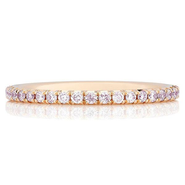 「デビアス・オーラ・バンドリング ピンク」 デビアスの結婚指輪・マリッジリング一覧。