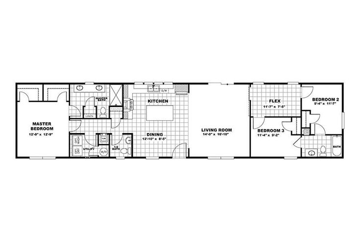 Clayton - The Condo in 2020   Single wide mobile homes ...