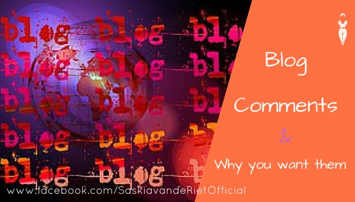 How can you benefit from this topic on blogging? I would like to share with you how I feel and what my experience is. More importantly, to share how you can benefit from comments on your blog: Why would you even want comments on your blog?