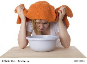 Kochsalzlösung herstellen – Inhalieren bei Erkältung