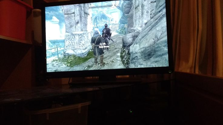 Guys it finally happened the ebony warrior. Im on xbox 360 and level 83 took 220 hours. He's like nearly double the height of my male Dunmer. #games #Skyrim #elderscrolls #BE3 #gaming #videogames #Concours #NGC