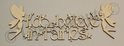 Fairy plaque, very popular. We were the original manufacturer for this plaque, now lots have copied our design