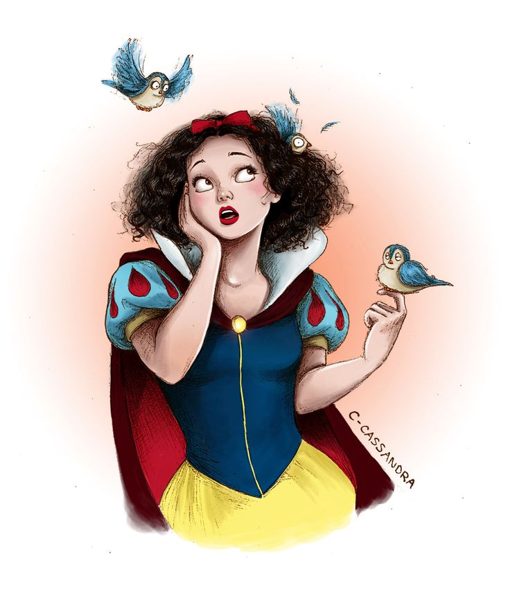 Snow White —-More Disney girls with curlsBelle | Ariel | Rapunzel | Pocahontas