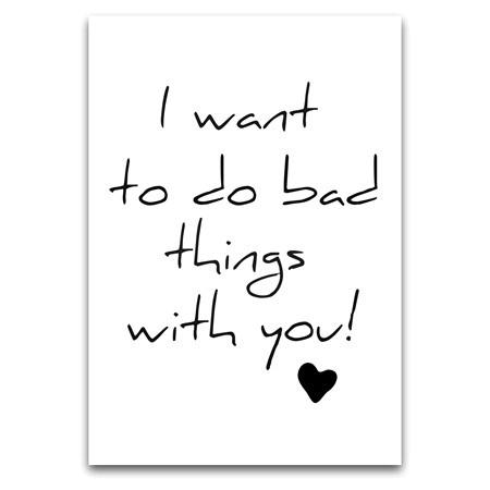Bad things?...