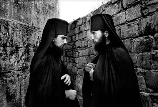 CNEWA - Picture of the Day: The Monks of Georgia (Photo: Justyna Mielnikiewicz)
