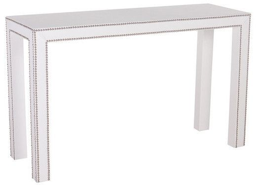 Celine Nailhead Parsons Table