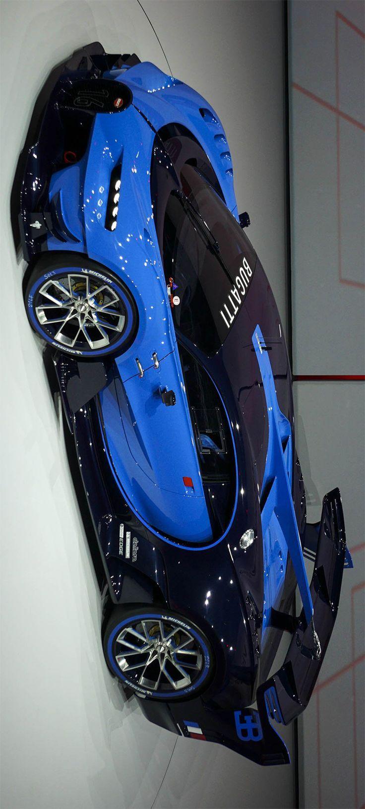 Bugatti Vision Gran Turismo #Bugatti #BugattiRezension #SuperCars #SportsCars – … #Sportwagen