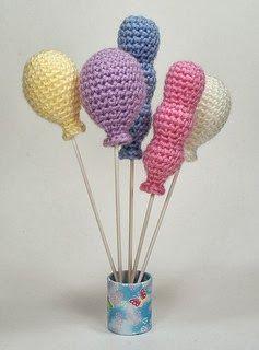 Free Crochet Pattern: Amigurumi Balloons
